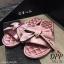 รองเท้าแตะโบว์สไตล์แฟชั่นเกาหลี (สีดำ) thumbnail 11