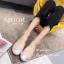 รองเท้า Slipper แต่งกลิตเตอร์ (สีครีม) thumbnail 2