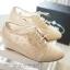 พร้อมส่ง : รองเท้าผ้าใบลูกไม้เกาหลี thumbnail 1