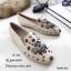 รองเท้าคัทชูทรงสวมปักลายผึ้ง Style Gucci (สีดำ) thumbnail 6
