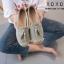 รองเท้าคัทชูแต่งพู่ (สีขาว) thumbnail 6