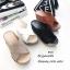 รองเท้าส้นเตารีดสวมไข้ว (สีครีม) thumbnail 13