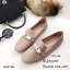 รองเท้าคัทชูหนังนิ่ม Style Hermes (สีชมพู) thumbnail 1