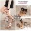รองเท้าแตะพันขาสไตล์โบฮีเมียน (สีดำ) thumbnail 3