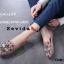 รองเท้าคัทชูทรงสวมปักลายผึ้ง Style Gucci (สีดำ) thumbnail 13