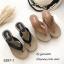 รองเท้าแตะคีบเสริมส้นสไตล์ลำลอง (สีดำ) thumbnail 5