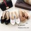 รองเท้าส้นเตารีดหนังนิ่ม (สีแทน) thumbnail 8