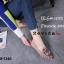 รองเท้าคัทชูทรงสวมปักลายผึ้ง Style Gucci (สีดำ) thumbnail 15