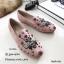 รองเท้าคัทชูทรงสวมปักลายผึ้ง Style Gucci (สีดำ) thumbnail 10
