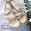 รองเท้าแตะสวมไขว้ (สีเทา) thumbnail 2