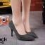 รองเท้าคัทชูผ้าลอนกลิตเตอร์ (สีเทา) thumbnail 4