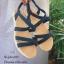 รองเท้าแตะสวมไขว้ (สีเทา) thumbnail 10