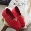รองเท้าส้นขนมปังหน้า V (สีดำ) thumbnail 7
