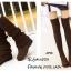 รองเท้าบูทยาวตัดต่อสไตล์ถุงเท้า (สีดำ) thumbnail 5