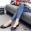รองเท้าคัทชูส้นแบน Style Zara (สีดำ) thumbnail 4