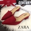 พร้อมส่ง : รองเท้าหัวแหลม STYLE ZARA (สีดำ) thumbnail 4