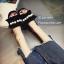 รองเท้าแตะจีบแต่งมุก (สีชมพู) thumbnail 6