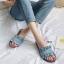 รองเท้าแตะสวมหนังกลับ (สีฟ้า) thumbnail 2
