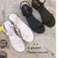 รองเท้าแตะเสริมส้นแต่งสายผูก (สีครีม) thumbnail 5