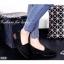 รองเท้าคัทชูส้นเตี้ยทรง Loafer (สีดำ) thumbnail 2