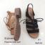 รองเท้าลำลองหนังกลับสไตล์วินเทจ (สีน้ำตาล) thumbnail 10