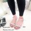 รองเท้าแตะยางแต่งคริสตัล (สีเงิน) thumbnail 1