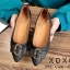 รองเท้าส้นแบนแต่งอะไหล่ Style Gucci (สีชมพู) thumbnail 7