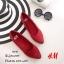 รองเท้าส้นแบนสไตล์ HM (สีน้ำเงิน) thumbnail 6