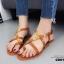 รองเท้าแตะรัดส้นสไตล์ Dior (สีดำ) thumbnail 13