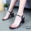 รองเท้าส้นตัน Style Maxi (สีดำ) thumbnail 1