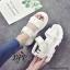 รองเท้าลำลองสไตล์แฟชั่นเกาหลี (สีขาว) thumbnail 3