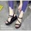 รองเท้าแตะแต่งคริสตัล (สีเงิน) thumbnail 7