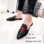 รองเท้า Slipper ปักลาย (สีดำ) thumbnail 4