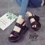 รองเท้าลำลองสไตล์แฟชั่นเกาหลี (สีขาว) thumbnail 5