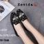 รองเท้าคัทชูทรงสวมปักลายผึ้ง Style Gucci (สีดำ) thumbnail 4
