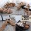 รองเท้าส้นตันแต่งอะไหล่ Style Zara (สีตาล) thumbnail 4