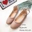 รองเท้าคัทชูส้นแบนถักเปีย (สีแดง) thumbnail 8