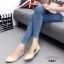 รองเท้าคัทชูส้นแบน Style Zara (สีดำ) thumbnail 10