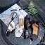 รองเท้าแตะ Hermes ส้นมุก (สีดำ) thumbnail 8
