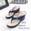 รองเท้าแตะคีบส้นเตารีดสไตล์ลำลอง (สีเทา) thumbnail 4