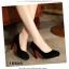รองเท้าคัทชูสีดำกำมะหยี่ thumbnail 4