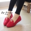 รองเท้าส้นขนมปังหน้า V (สีดำ) thumbnail 6