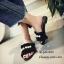 รองเท้าแตะจีบแต่งมุก (สีชมพู) thumbnail 7