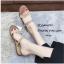 รองเท้าแตะแแต่งสายคาดสไตล์ลำลอง (สีเขียว) thumbnail 4