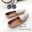 รองเท้าคัทชูต่อผ้าหลากสี (สีดำ) thumbnail 4