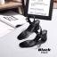 รองเท้าส้นตัน Style Maxi (สีดำ) thumbnail 5