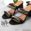 รองเท้าส้นตัน Style Givenchy (สีเทา) thumbnail 5