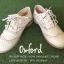 พร้อมส่ง : รองเท้า Oxford ผ้าลูกไม้ (สีครีม) thumbnail 2