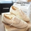 รองเท้า Oxford ผ้าลูกไม้ (สีครีม) thumbnail 1
