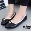 รองเท้าคัทชูหนังนิ่ม Style Dior (สีดำ) thumbnail 3